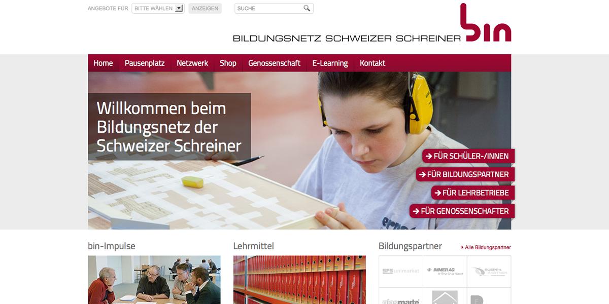 Bildungsnetz Schweizer Schreiner