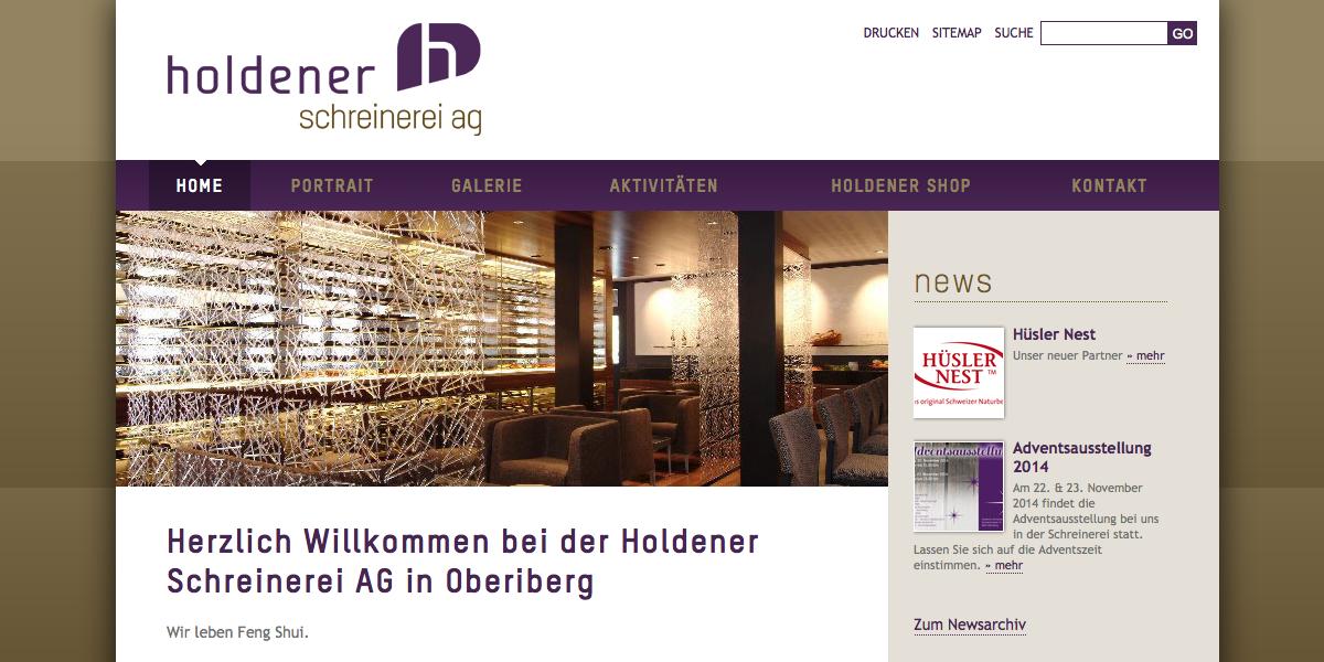Holdener Schreinerei AG