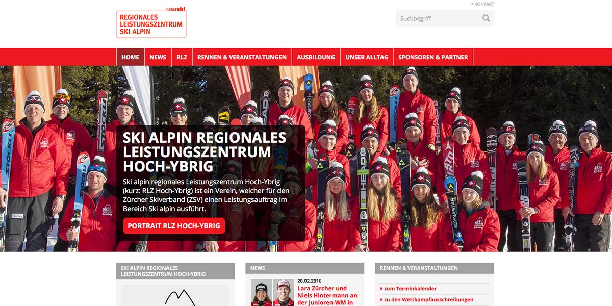Ski alpin regionales Leistungszentrum Hoch-Ybrig